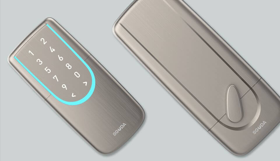SGUDA WiFi and Bluetooth built in smart deadbolt door lock