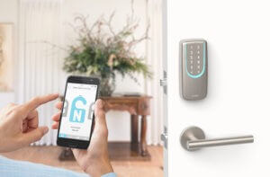 SGUDA WiFi and Bluetooth built in smart deadbolt door lock