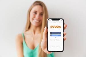 SGUDA: Wifi & Bluetooth Built-in Smart Deadbolt Door Lock