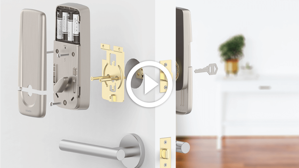 how to install sguda lock